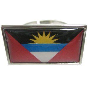 Antigua and Barbuda Flag Fashion Ring